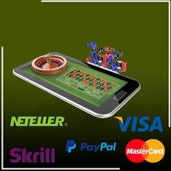 Paiements depuis son Android et jouer à la roulette