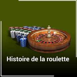 Histoire de la roulette des casinos en ligne